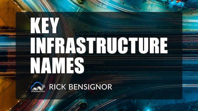 Key Infrastructure Names | Rick Bensi...