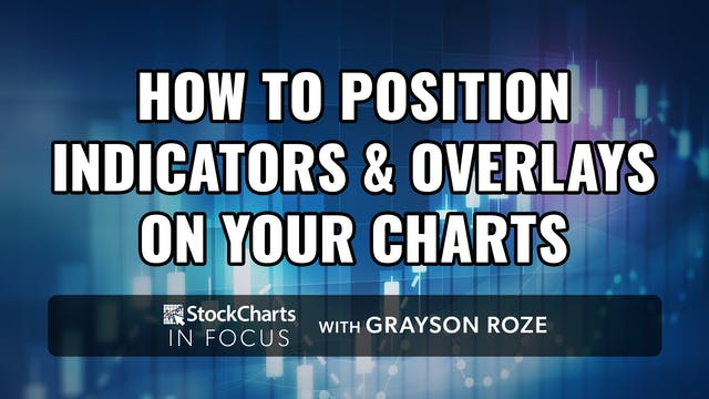 How To Position Indicators & Overlays...