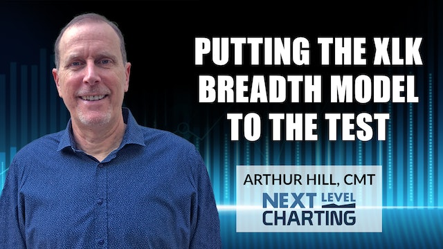 Putting the XLK Breadth Model to the Test | Arthur Hill, CMT (01.28)