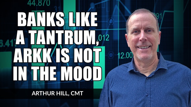 Banks Like a Tantrum, but ARKK Is Not In The Mood | Arthur Hill, CMT (09.30)