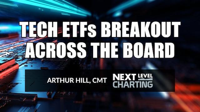 Tech ETFs Breakout Across the Board | Arthur Hill, CMT (06.24)