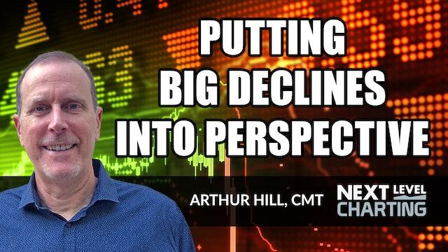 Putting Big Declines Into Perspective | Arthur Hill, CMT (04.01)