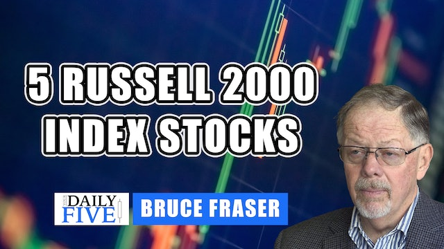 Five Russell 2000 Index Stocks | Bruce Fraser (06.14)