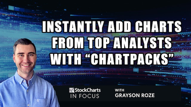Instantly Add Charts From Top Analysts w/ ChartPacks   Grayson Roze