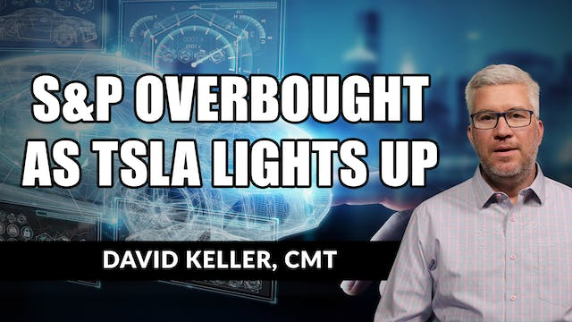 S&P Overbought as TSLA Lights Up | Da...