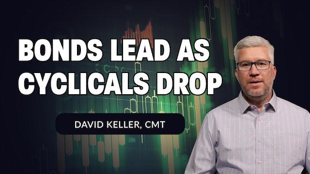 Bonds Lead as Cyclicals Drop | David Keller, CMT (07.06)