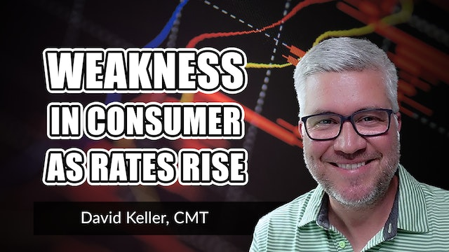 Weakness in Consumer as Rates Rise   David Keller, CMT (06.14)