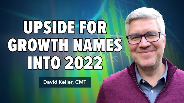 Upside for Growth Names Into 2021 | David Keller, CMT (10.19)