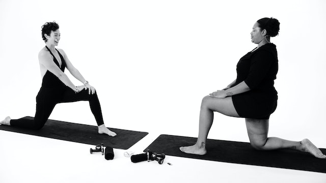 Lower Body Restorative Stretch