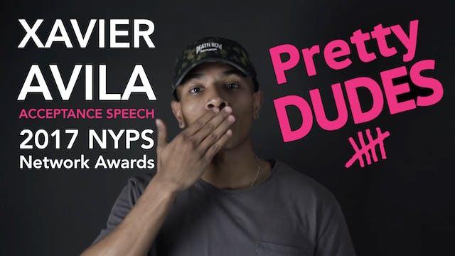 Xavier Avila Acceptance Speech (2017 ...