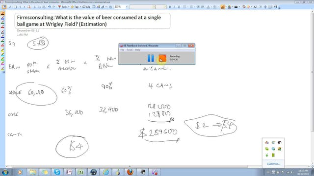 24 Estimation Estimate the value of b...