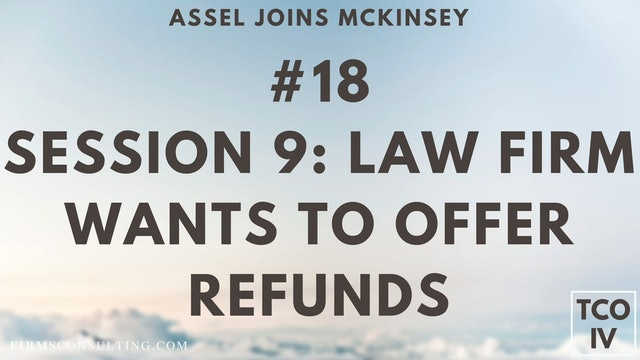 18 TCOIV ML S9 Law firm wants to look at offering 100% refunds