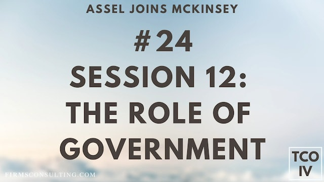 24 TCOIV ML S12 The role of government