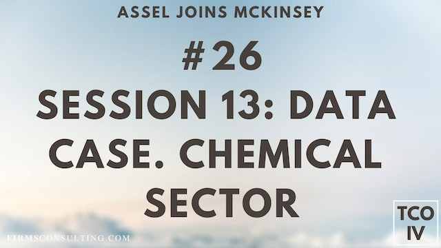 26 TCOIV ML S13 Data Case. Chemical Sector