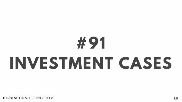91 15 3 7  EH Investment cases