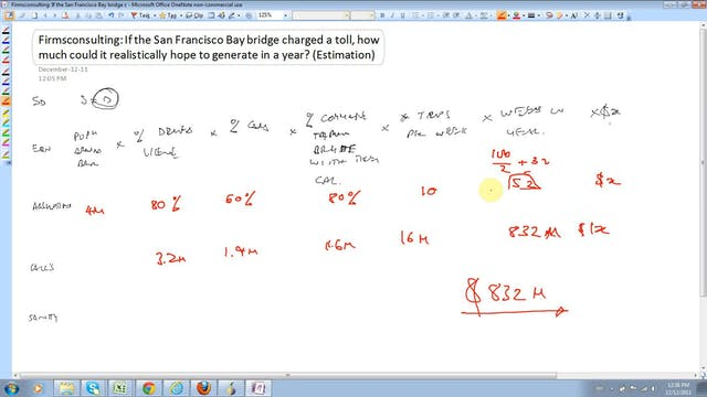 11 Estimation (Tough Case) If the San...