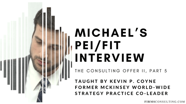 TCO 2: 5 Michael's PEI/FIT Interview - StrategyTV