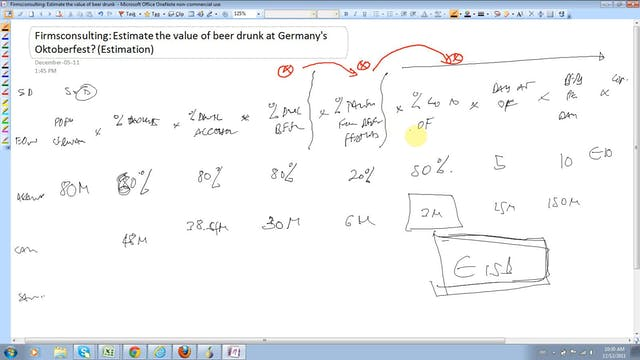 23 Estimation Estimate the value of b...