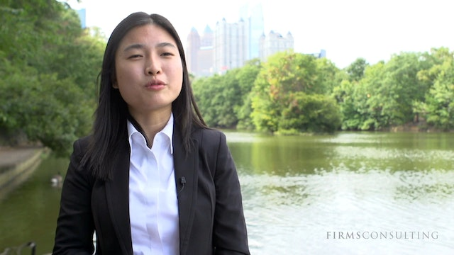 CSCI Alice Qinhua Zhou's Feedback after Joining McKinsey New York
