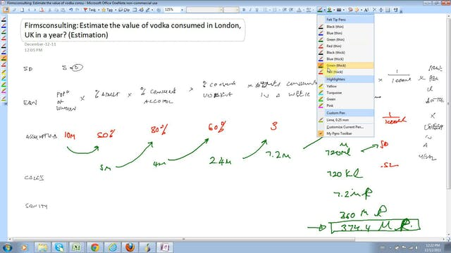 4 Estimation Estimate the value of vo...