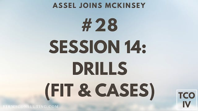 28 TCOIV ML S14 Drills (FIT & Cases)