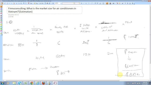 33 Estimation Estimate the market siz...