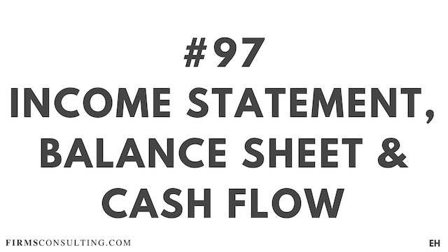 97 16 6  EH Income statement vs balance sheet vs cash flow