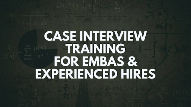 1 Experienced Hires: Intro + Myths + FAQs