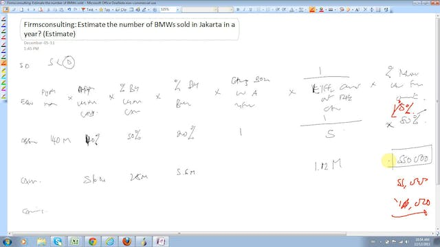 14 Estimation (Tough Case) Estimate t...