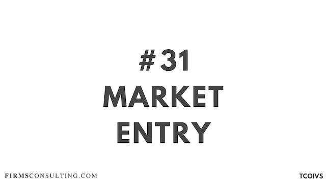 31 TCO IV Sizan. Session 16. Market e...