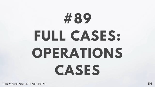 89 15 3 5  EH Full cases. Operations