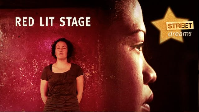 Red Lit Stage music video