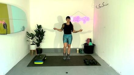 Priscilla Rojas Fitness Video
