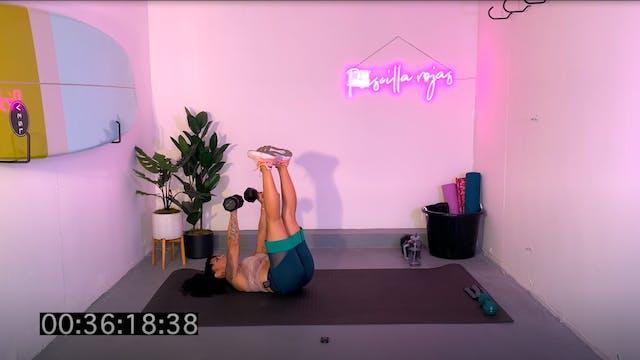 Full Body Floor Workout 40
