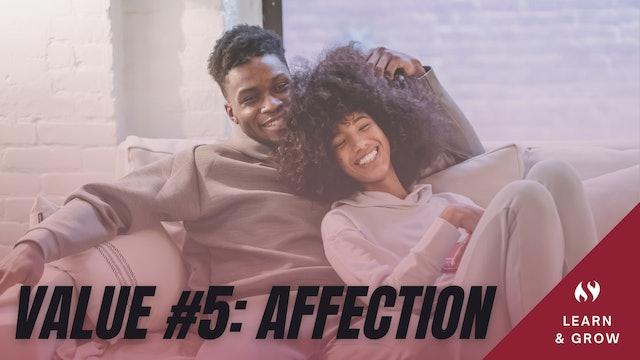 Value #5 Affection