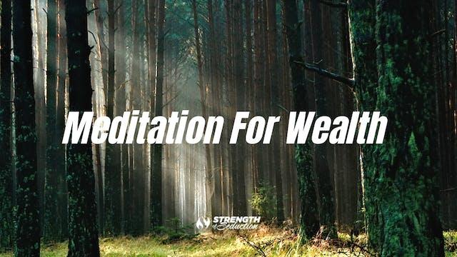 Meditation For Wealth