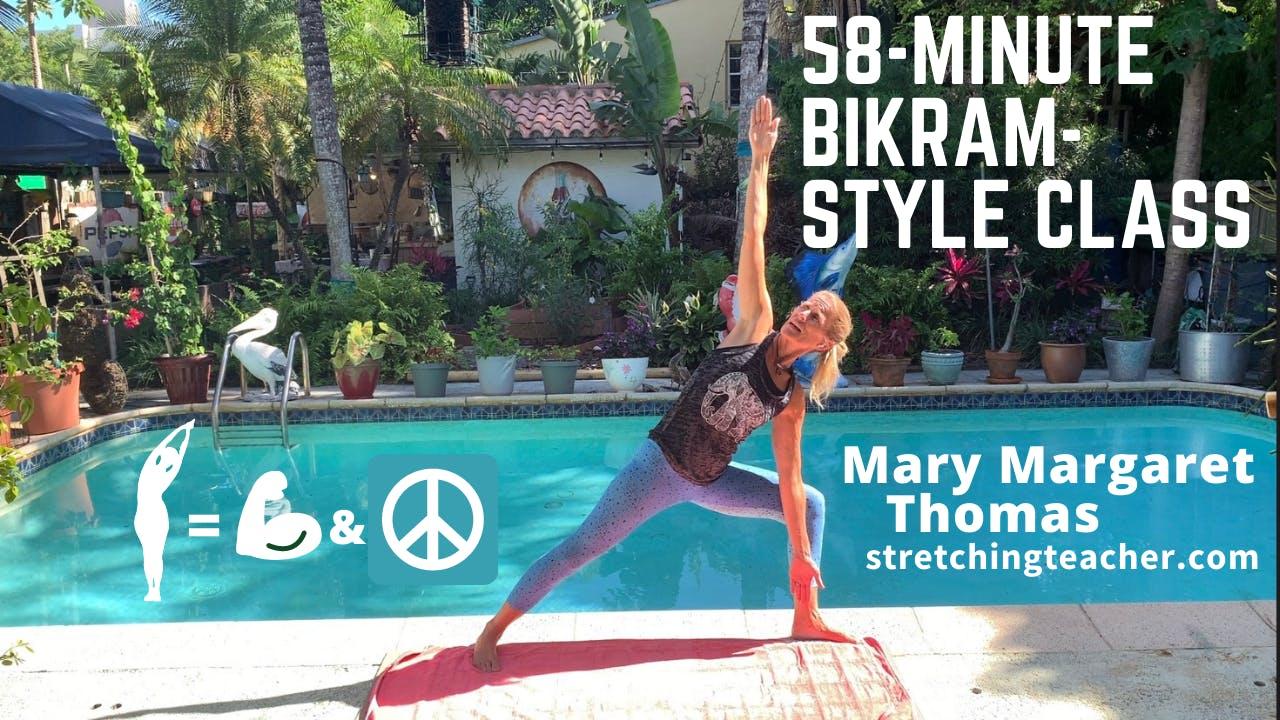 58-Minute Bikram-Style Class with MM
