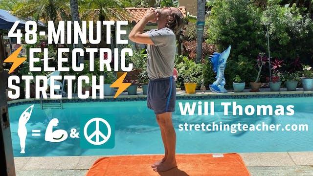 48-Minute Electric Stretch Class