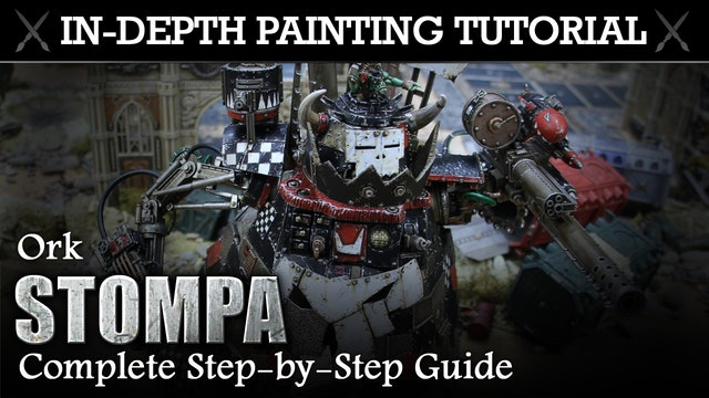 ORK STOMPA In-Depth Painting Tutorial