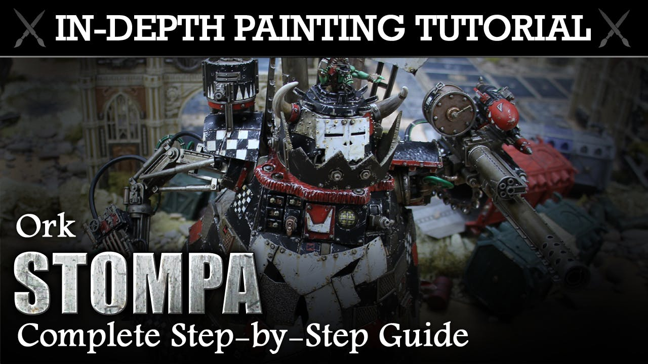 ORK STOMPA In-Depth Painting Tutorial