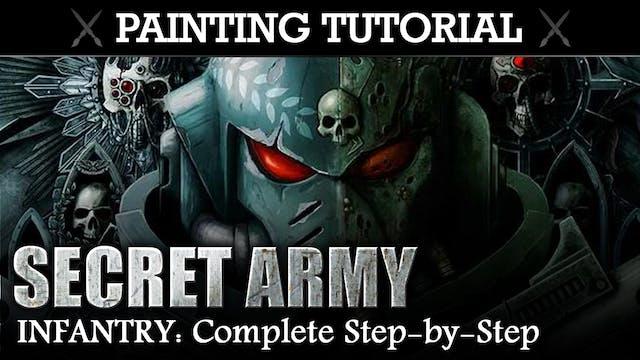 Painting Tutorial: SECRET ARMY (Rubric Marines)