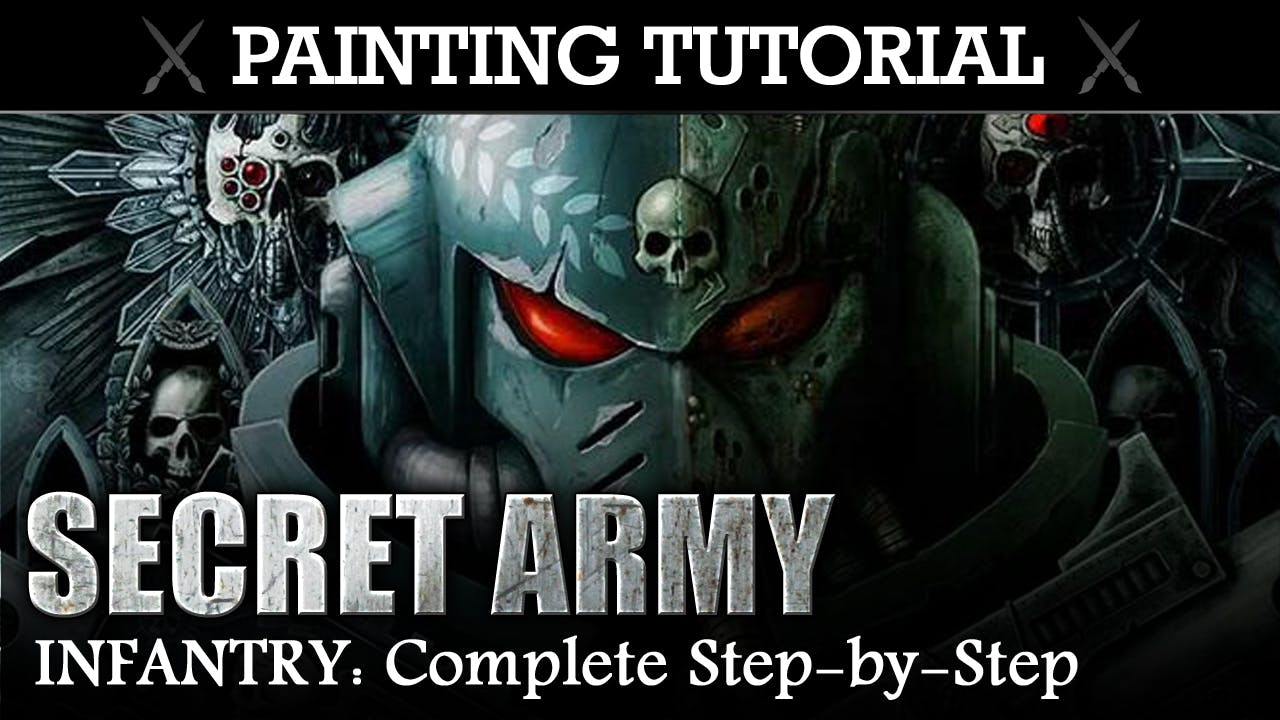 Painting Tutorial: SECRET ARMY (Rubric Marines) Complete Step-by-Step Guide!