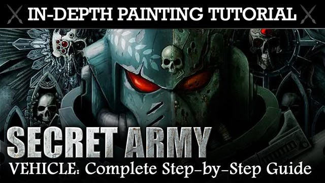SECRET PROJECT In-Depth Painting Tutorial (Maulerfiend)