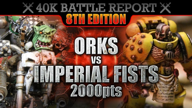 ALL Warhammer 40K 8th Edition Battle Reports