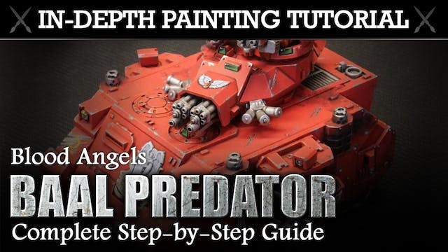 BLOOD ANGELS In-Depth Painting Tutorial
