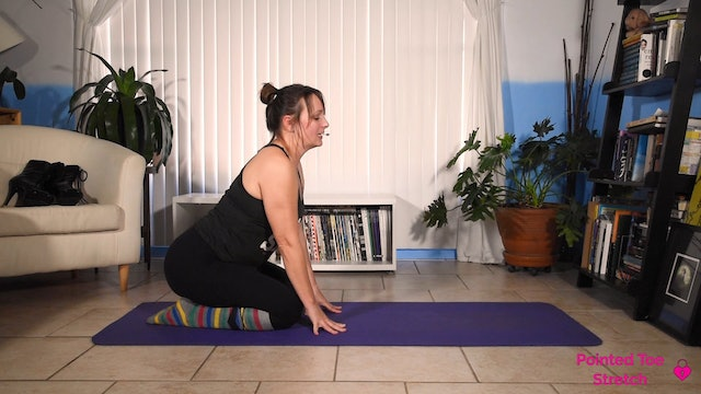 Stretch for Better Pointed Toes