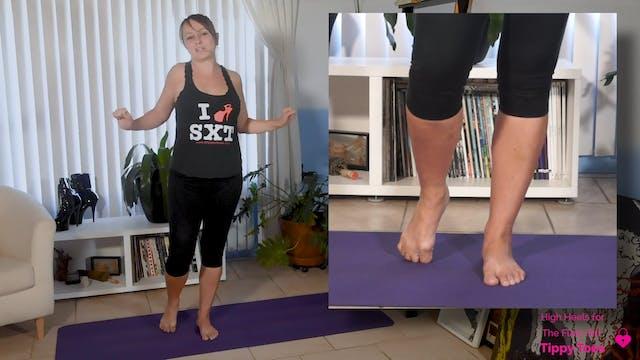 How to Walk in High Heels Part 7