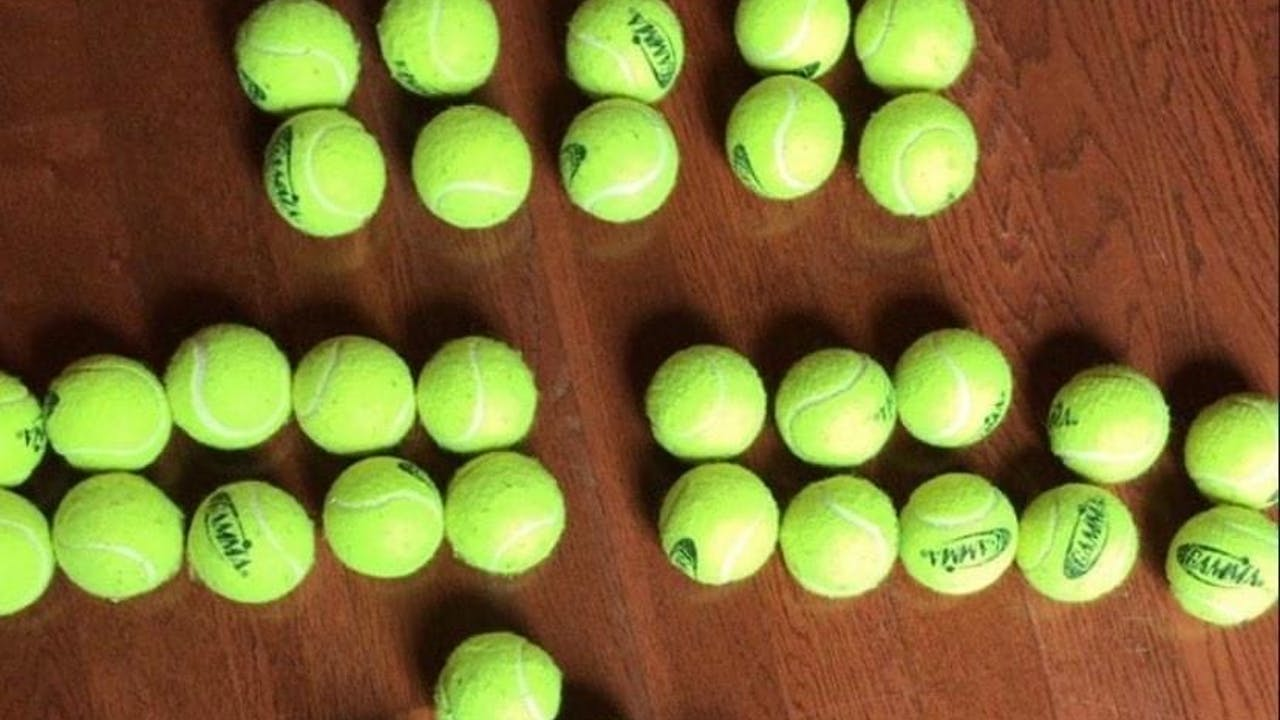 Roll & Restore: DIY Massage with Tennis Balls!