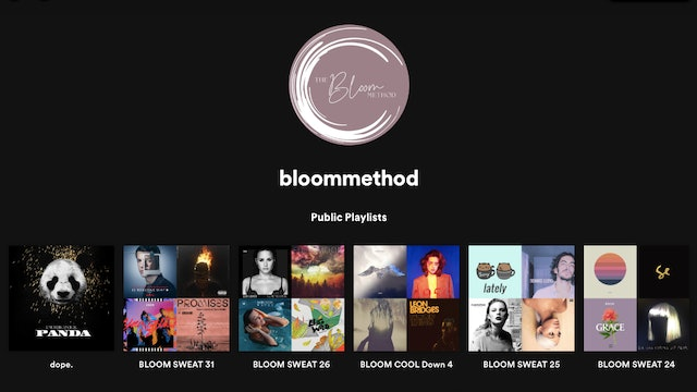 Bloom Spotify Music