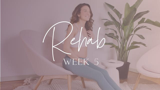 REHAB Week 5 (Education + Circuit)